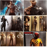 NEW LEAKED Concept Art for DeadPool2 gives us our First Potential Look at BradPitt as Cable, Domino, Colossus and DeadPool ! 😱 These Look BadAss, I can't wait to see the Final Designs ! MarvelCinematicUniverse 💥: IGI ODC MARVEL UNITE  CONCEPT ART  CABL  DEADPOOL NEW LEAKED Concept Art for DeadPool2 gives us our First Potential Look at BradPitt as Cable, Domino, Colossus and DeadPool ! 😱 These Look BadAss, I can't wait to see the Final Designs ! MarvelCinematicUniverse 💥