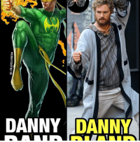 Note the difference. NotMyDannyRand. Listen to the podcast. 🚨 LINK in BIO. -- I'm not sure how people think Finn Jones successfully embodied the IronFist character. He came off as simultaneously petulant and yoga-hippy zen at times. He had no charisma. He had no screen presence. His choreography was weak. His fitness level was questionable. And honestly, he's the first Defender I'm not on the edge of my seat waiting to see interact with the other teammates. He's bland. But not in a terrible way - just in a forgettable way. And that's a travesty unto itself considering he's a dude that punches a Dragon in the heart. That's the opposite of bland, DannyBland. That's metal af. What do you guys think of FinnJones as DannyRand so far? Race issue aside - his casting was whack to me.: IGIBLERD VISION Note the difference. NotMyDannyRand. Listen to the podcast. 🚨 LINK in BIO. -- I'm not sure how people think Finn Jones successfully embodied the IronFist character. He came off as simultaneously petulant and yoga-hippy zen at times. He had no charisma. He had no screen presence. His choreography was weak. His fitness level was questionable. And honestly, he's the first Defender I'm not on the edge of my seat waiting to see interact with the other teammates. He's bland. But not in a terrible way - just in a forgettable way. And that's a travesty unto itself considering he's a dude that punches a Dragon in the heart. That's the opposite of bland, DannyBland. That's metal af. What do you guys think of FinnJones as DannyRand so far? Race issue aside - his casting was whack to me.