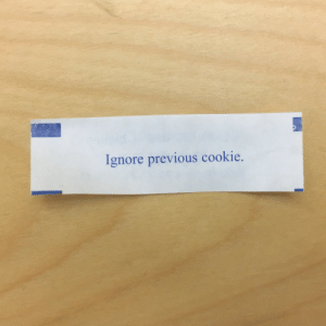 """Tumblr, Blog, and Http: Ignore previous cookie. mildlyinteresting-blog:  http://bit.ly/2YEN7OC """"I got a fortune from a fortune cookie that cancels my most recent fortune"""""""