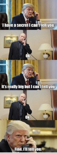 """<p>Putin-Donald memes are the anti biden-obama! They might be negative but and upvote is an upvote for the Memeconomist via /r/MemeEconomy <a href=""""http://ift.tt/2qOuj2m"""">http://ift.tt/2qOuj2m</a></p>: Ihave a secret I can'Ttell you  Ok  It's really big but I can'ttellyou  Ok  Fine, I'll tell you <p>Putin-Donald memes are the anti biden-obama! They might be negative but and upvote is an upvote for the Memeconomist via /r/MemeEconomy <a href=""""http://ift.tt/2qOuj2m"""">http://ift.tt/2qOuj2m</a></p>"""