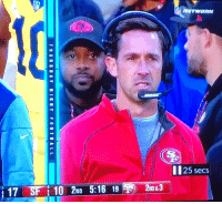 Mike Tomlin, Wtf, and Steelers: II25 secs  192ND&3 WTF is Steelers Mike Tomlin doing on the Niners sideline??? 😱 https://t.co/DAIvlEVZlS