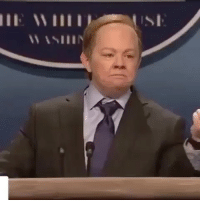 Sean Spicer with his alternativefacts head ass shenailedit: IIE Willi Sean Spicer with his alternativefacts head ass shenailedit