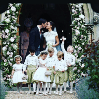 England, Memes, and Duke: iii U Pippa Middleton and her husband James Matthews share a kiss after their wedding in England. Guests included the Duke and Duchess of Cambridge. Miss Middleton, 33, is the younger sister of the duchess, and got engaged to 41-year-old Mr Matthews last year. 📷: AFP wedding weddingseason pippamiddleton pippaswedding