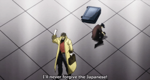 Japanese, Never, and Congress: I'Il never forgive the Japanese! Franklin Delano Roosevelt delivers his famous Infamy speech to Congress (December 8 1941, colorized)