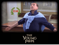 Thanks to my friend Luca Satulli  -REBUS: IIM  THE  YOUNG  POPE Thanks to my friend Luca Satulli  -REBUS