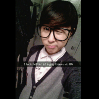 My gay friend snapchat me his female crossdress and said he'd make a better looking girl than me, so i thought id cross dress and see hahahahaha am i seductive yet? crossdress boy time yo swag lolz: I look better as a guy than u do HA My gay friend snapchat me his female crossdress and said he'd make a better looking girl than me, so i thought id cross dress and see hahahahaha am i seductive yet? crossdress boy time yo swag lolz