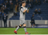 Memes, Iker Casillas, and 🤖: Iker Casillas has now kept 5 straight clean sheets for Porto in all competitions. Saint  #Mr_Iker