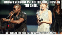 memes I've only been waiting 20 damn years for this: IKNOWEVERYONE IS EXCITED FORGHOSTIN  THE SHELL  BUT WHERE THE HELLIS THE COWBOY BEBOP MOVIE memes I've only been waiting 20 damn years for this