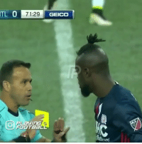 Kamara gets booked for twerking after scoring.. Don't try that in the MLS!😂✋ @playingfootball: IL 01 71:29  CEDO  GEICO  PLay I nG  FOOTBa  are Kamara gets booked for twerking after scoring.. Don't try that in the MLS!😂✋ @playingfootball