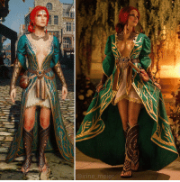 Cosplay, Witcher, and The Witcher: Il  @irine meier The Witcher Triss Merigold Cosplay https://t.co/eQMfrzSJEv