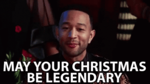 May Your Christmas Be Legendary Merry Christmas GIF ...: Il  MAY YOUR CHRISTMAS  BE LEGENDARY May Your Christmas Be Legendary Merry Christmas GIF ...