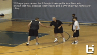 "Celebrating Coach Popovich's birthday with this hilarious video of him telling campers: ""I'll forget your names, but I thought it was polite to at least ask. Because I don't really give a s**t what your names are."" https://t.co/dhdYyTuspK: ""I'll forget your names, but I thought it was polite to at least ask  or start that way. Because I don't really give a s**t what your names are""  Pop Celebrating Coach Popovich's birthday with this hilarious video of him telling campers: ""I'll forget your names, but I thought it was polite to at least ask. Because I don't really give a s**t what your names are."" https://t.co/dhdYyTuspK"