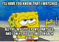 my little ponies: ILL HAVE YOU KNOW THATIWATCHED  ALL THE MY LITTLE PONY PANTSUS,  CRIED  EACH  MEME EULCOM