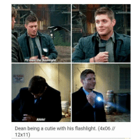 Is 12x11 a Yellow fever type episode?? Bc i have NOT watched it yet 😭: I'll man the  flashlight  Ahhh!  Dean being a cutie with his flashlight. (4x06  12x11) Is 12x11 a Yellow fever type episode?? Bc i have NOT watched it yet 😭