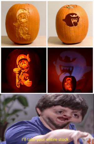 Make Spooktober spooky again!: I'll take your entire stock  ் Make Spooktober spooky again!