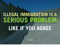 Like If You Agree: ILLEGAL IMMIGRATION IS A  SERIOUS PROBLEM  LIKE IF YOU AGREE  TEA PARTY  PATRIOTS