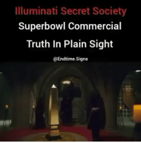 "Memes, Coincidence, and In Plain Sight: Illuminati Secret Society  Superbowl Commercial  Truth In Plain Sight  @Endtime. Signs Repost from @bornillegal - "" Masks have commonly been used during ritual and spiritual services and have been used to create, amplify or fulfill the wearer's identity or sense of inner spirituality. Ritual masks can be found throughout the world and the functions of these masks in ritual are usually religious or magically inclined. Some characteristics include the enabling of communication with the unseen, undead, or giving magical powers to shamans or spiritual healers within tribes and various communities who wear them. This review article will explore the different themes, within different cultures, regarding the use of masks in ritual, and how it coincides and relates to identity building in ceremonies and proceedings."" tranceshamanismbodyandsoul.blogspot.com-2011-03-significance-of-masks-in-ritual-and.html cityovgods @Regrann from @conscious_god - @youniverse_soul @endtime.signs"" nfl superbowl - regrann"