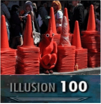 Anaconda, Illusion, and Where Is It: ILLUSION 100 Where is it?