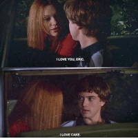 Memes, TV Shows, and Cake: ILOVE YOU, ERIC.  I LOVE CAKE. happy new sad year [tv show: that 70s show]