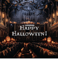 Halloween, Memes, and Happy: @iloveharrypotter9  HAPPY  HALIOWEENI  AV = Like & Comment! Happy Halloween from Hogwarts! 🎃 Do you celebrate it? What are you wearing? = = You can find me on @mypotterfacts @typedpotterquotes @bookgasms and @valeriatouma ✨☕️