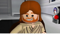 """Obi-Wan are you in there?..."" 'No.' Video by: videogamedunkey: ilvi ""Obi-Wan are you in there?..."" 'No.' Video by: videogamedunkey"