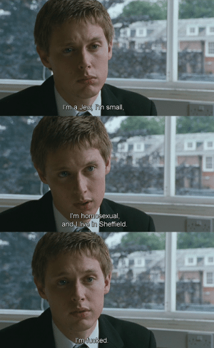 Dove, Tumblr, and Blog: I'm a Jew in small   I'm homosexual  and J live in Sheffield   ed irina-the-lonely-white-dove:    The History Boys, 2006, dir. Nicholas Hytner