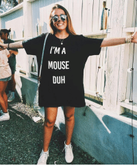 We promise this is the LAST TIME we're restocking this. Last week you psychos sold us out in less than 24 hours and because we're soooo nice we brought it back again. May the odds be ever in your favor. 👉🏻 link in bio. imamouseduh: I'M A  MOUSE  DUH We promise this is the LAST TIME we're restocking this. Last week you psychos sold us out in less than 24 hours and because we're soooo nice we brought it back again. May the odds be ever in your favor. 👉🏻 link in bio. imamouseduh