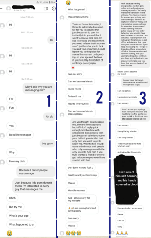 Im a solo porn actress (please dont judge me for that) and this is my first creep ive encounted: Im a solo porn actress (please dont judge me for that) and this is my first creep ive encounted