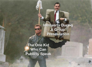 Im an introvert yet I AM ARNOLD BECAUSE NONE OF MY PIECE OF SHIT CLASSMATES CAN DO ANYTHING RIGHT ON THEIR OWN LIKE THE SCUMMY IDIOTS THEY ARESCHEISSE: Im an introvert yet I AM ARNOLD BECAUSE NONE OF MY PIECE OF SHIT CLASSMATES CAN DO ANYTHING RIGHT ON THEIR OWN LIKE THE SCUMMY IDIOTS THEY ARESCHEISSE