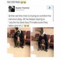 "Memes, 🤖, and Take Care: I'M CRYING  Baylee Thatcher  @bay thatch  the vet this man is trying to comfort his  nervous dog. All he keeps saying is  ""you're my best boy l'll make sure they  take care of u But every time I give out my number I get too many texts and freak out a little on the inside ~Michaela •••••••••••••••••••••••••••••••••••• TAGS TAGS TAGS TAGS TAGS tumblrtextpost tumblrposts textpost tumblr shrek instatumblr memes posts phan funnythings 😂 same funny haha loltumblr lol relatable rarepepe funnythings funnytextposts pepeislife meme funnystuff pepe food spam (follow our backup @plshelpimabackup )"
