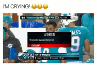 Inting: I'M CRYING!  G4  ALES  ATTENTION  The connection to your peer has been lost.  X EXIT GAME  apwnteam  OBMATT MOORE  8 0 COMP 3 ATT 0 YARDS 2 INT