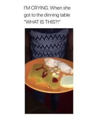 """Raw chicken 😂 • follow @wasteniggastime2018 for more posts daily: I'M CRYING. When she  got to the dinning table  """"WHAT IS THIS?!"""" Raw chicken 😂 • follow @wasteniggastime2018 for more posts daily"""