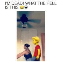 Dude, Emoji, and Funny: I'M DEAD! WHAT THE HELL  IS THIS Oh sh*t yellow emoji dude getting it 🔥😂 Via @alize.the.juice