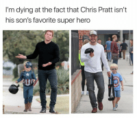 """Bailey Jay, Chris Pratt, and Funny: I'm dying at the fact that Chris Pratt isn'""""t  his son's favorite super hero  200  LALO BACKGRiD HA! https://t.co/cfdpMID1Wl"""