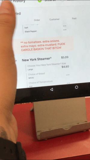 """I'm """"essential"""" and this just came in our Uber Eats order...: I'm """"essential"""" and this just came in our Uber Eats order..."""