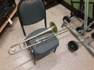 I'm fairly new to trombone and I'm having a bit of trouble with the higher tones. I used to play tuba (fairly well actually) and I would like a few tips to be able to play those higher tones a bit easier.: I'm fairly new to trombone and I'm having a bit of trouble with the higher tones. I used to play tuba (fairly well actually) and I would like a few tips to be able to play those higher tones a bit easier.