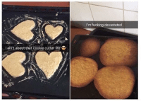 Meirl: I'm fucking devastated  Lain't about that cookie cutter life Meirl