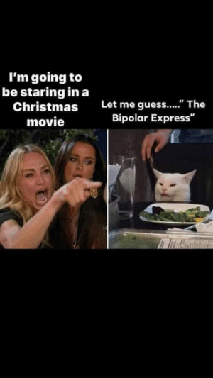 "Christmas, Reddit, and Bipolar: I'm going to  be staring in a  Christmas  Let me guess..."" The  Bipolar Express""  movie What Christmas movie? Oh that's right."