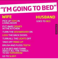 To do bed in things husband with 159 Romantic