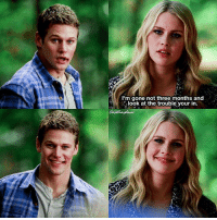 [5x11] I love my coloring on this 😍 ⠀ Q: Did you ship them? ⠀ My edit give credit [ mabekah mattdonovan rebekahmikaelson tvd thevampirediaries vampirediaries tvdforever|176.3k]: I'm gone not three months and  look at the trouble your in. [5x11] I love my coloring on this 😍 ⠀ Q: Did you ship them? ⠀ My edit give credit [ mabekah mattdonovan rebekahmikaelson tvd thevampirediaries vampirediaries tvdforever|176.3k]