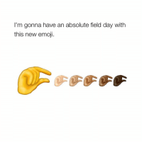 😂😂😂: I'm gonna have an absolute field day with  this new emoji 😂😂😂