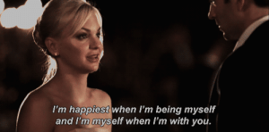 https://iglovequotes.net/: I'm happiest when I'm being myself  and I'm myself when I'm with you. https://iglovequotes.net/