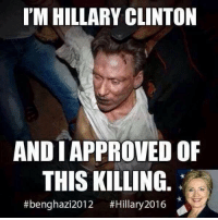 Tangled web of Libya, weapons, Syria, and Isis.   https://en.wikipedia.org/wiki/2012_Benghazi_attack: IM HILLARY CLINTON  ANDI APPROVED OF  THIS KILLING  #benghazi2012 #Hillary 2016 Tangled web of Libya, weapons, Syria, and Isis.   https://en.wikipedia.org/wiki/2012_Benghazi_attack