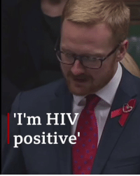 "Memes, Politics, and Define: I'm HIV  positive' ""I wanted to be able to stand here in this place and say to those living with HIV that our status doesn't define them. That we can be whoever we want to be."" Labour MP Lloyd Russell-Moyle has revealed that he has been HIV positive for nearly 10 years, as the House of Commons debated World Aids Day. worldaidsday hiv hivpositive politics bbcnews"