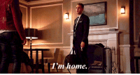 Ass, Cute, and Funny: I'm home. writeonthrough: writeonthrough:  Mr. and Mrs. Fitzsimmons  #ok but this is both adorable and meaningful #(and y'know has a great shot of jemma's ass lookin fine in those leather pants) #but anyway back to what I was saying - a lot about their story for the past couple of episodes has been about them both #coming to terms with how their relationship has definitively changed and *owning* that change #so I know this gifset is supposed to be funny/cute - and it is! - I feel like it also sorta hits upon the crux of 3x17 and 3x18 for FS #together they are home - when honest with each other they are home - in each other's arms they are home #and in some ways it's as simple as that #aos meta #in my tags lol #bc I have too many feelings #Agents of SHIELD #FitzSimmons #Leo Fitz#aos spoilers(via @agentverbivore)