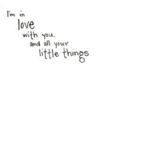 https://iglovequotes.net/: I'm in  love  and all  your  little things https://iglovequotes.net/