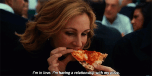 https://iglovequotes.net/: I'm in love. I'm having a relationship with my pizza. https://iglovequotes.net/