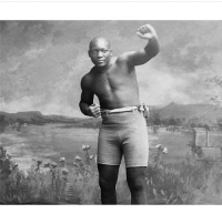 """Memes, Jack Johnson, and 🤖: I'm Jack Johnson, I'll beat a slave catcher snaggeled Toothed"""". Google him. My Granpa Willie B. Sherwood Adored him so HBHMHisMemory"""