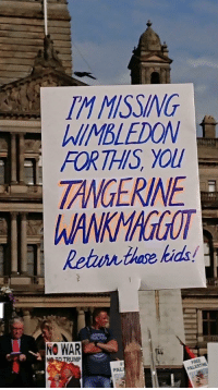 Politics, Best, and Kids: IM MSSING  MBLEDOMW  FORTHIS YOl  TANGERINE  WANKMAGGOT  Rehurn thoe kids  NO WAR  MP  PAL