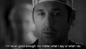 https://iglovequotes.net/: I'm never good enough. No matter what I say or what i do. https://iglovequotes.net/